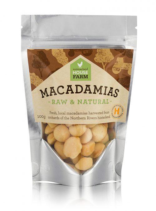 Raw and Natural Macadamias
